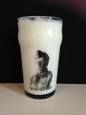 DAD'S ARMY Lance Corporal Jones PINT SIZE BEER GLASS Clive Dunn
