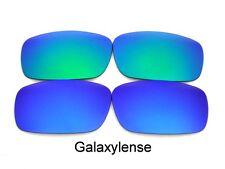 Galaxy Lentes De Repuesto Para Oakley Chainlink Azul / VERDE POLARIZADOS 2 pares