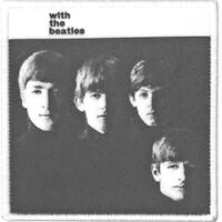 OFFICIAL LICENSED - THE BEATLES - WITH THE BEATLES SEW ON PATCH LENNON