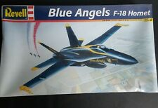 Blue Angels F-18 Hornet Revell  No. 85-5820 1:48 scale Jet Aircraft Kit Airplane