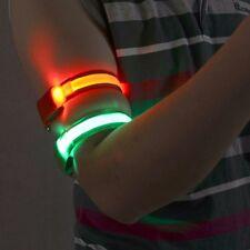 Pulsera, Brazalete, cinta, reflectante, luz, azul o rojo - ENVIO GRATIS ESPAÑA