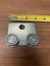 (Qty 1) 4-Wheel Trolley for Unistrut 1-5/8� Channel 1 Hole 9/16� 600 Pound Limit