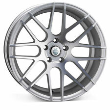 "18""cades artemis silver Alloy Wheels bmw /e46 3 series /z3/z4/m3/5/6 with tyres"