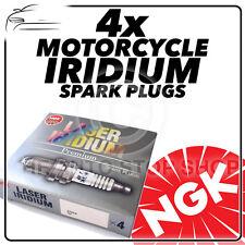 4x NGK Bujías para HONDA 900cc CBR900RR K2 FIREBLADE (954cc) 02- > 03 no.6777