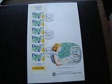 FRANCE - 1 enveloppe 1er jour 17/3/1990 (journee du timbre) (cy74) french