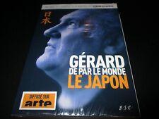 """DVD NEUF """"GERARD DEPARDIEU DE PAR LE MONDE : LE JAPON"""" serie documentaire"""