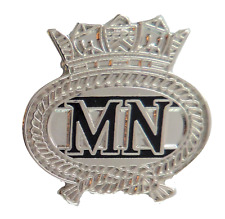 Merchant Navy Crest Lapel Pin Badge