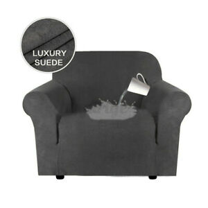 Elastic Recliner Chair Armchair Cover Slipcover Wingback Couch Protector