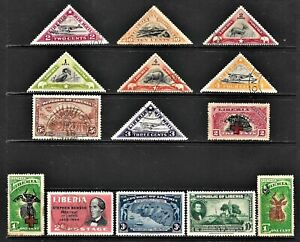LIBERIA... GOOD  COLLECTION OF STAMPS