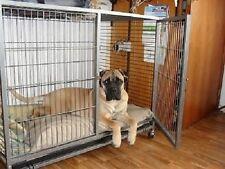 Trasportino gabbia box con ruote per cani L 110 x 70 x H 90 cm