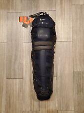 "Nike DE3539 Baseball Catchers Leg Shin Guards 18"" Navy PBP301-401"