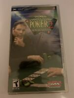 World Championship Poker 2 Featuring Howard Lederer (Sony PSP, 2005) NEW SEALED