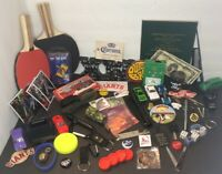 Junk Drawer Mixed Lot! Bottle Openers,Cars,Cards,Game Pieces,2New P.Pong Paddles