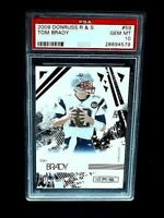 2009 Donruss Rookies & Stars #59 TOM BRADY PSA 10 Gem Mint