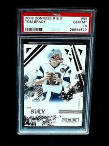 2009 Donruss Rookies & Stars #59 TOM BRADY PSA 10 Gem Mint