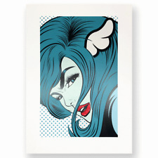 D*Face DFACE Turn Coat Art Poster Print #/75 stolenspace gallery