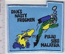 SCUBA Diving Malaysia Dan's Nasty Frogmen Pulau Sibu, Malaysia