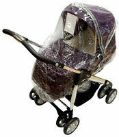 Raincover Compatible with Silvercross 3d Pushchair