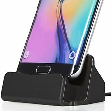 Micro USB Desktop Charger Docking Station for Huawei MediaPad T1 10 Black