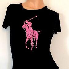 RALPH LAUREN Breast Cancer Beaded Pink Pony Shirt (retail £240)