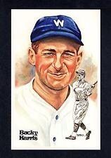 #148 BUCKY HARRIS, Senators ~ Perez-Steele Hall of Fame Art Postcard #/10,000
