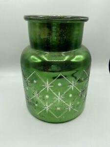 Pottery Barn Everett Mercury Glass Vase Christmas Decor NWT!