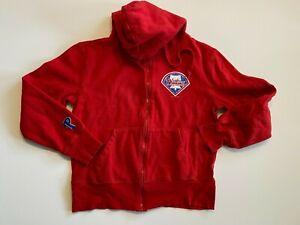 Philadelphia Phillies MLB Baseball Fleece Hoodie Sweatshirt Youth Medium