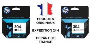 HP 304bk / 304clr Noir & Couleurs Cartouche d'encre HP *Choisissez votre encre*