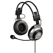 "Hama ""HS-400"" Vibrating PC Headset Gaming Headphones BNIB UK Stock"