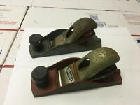 "Vintage STANLEY Handyman & Westline 6-5/8"" Block Planes USA Lot of 2"