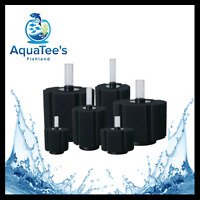 AQUATEE RECENT SPONGE FILTER 40L FISH TANK WATER PUMP NANO MARINE OXYGEN SUBMER