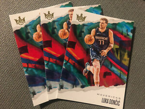 2019-20 Luka Doncic Court Kings LOT x3