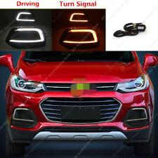 2 Colors LED Daytime Running Light DRL Fog Lamp o For Chevrolet Trax 2017-2019