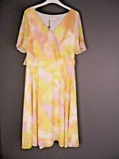 JACQUES VERT Dress Size 10 Porta Bloom Floral Floaty Wedding Christening Races