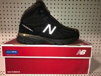 New Balance 990v4 Mid Mens Athletic Hiking Trail Running Boots Size 12 D Black