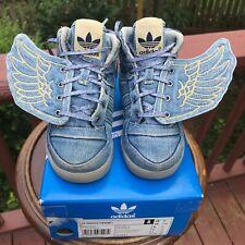 BABY SIZE 8K Adidas Originals Jeremy Scott DENIM WINGS JS V24622 Authentic 100%