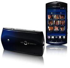 Sony Ericsson Xperia Neo mt15i Profondo Blu (Sbloccato) 8mp fotocamera Grado B