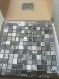 Vermont Mosaic Tile Sheet 300x300 10pce(sheets)per pack. Price for 1pk