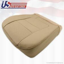 2001 Ford F250 F350 Lariat Passenger Bottom Leather Seat Cover Parchment TAN