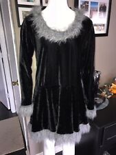 Fun World Women's Racy Raccoon Costume - Dress & Tail Only M/L