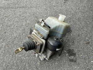 01-02 Mitsubishi Montero ABS Anti Lock Brake Pump Master Cylinder Brake Booster