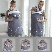 Baby Carrier Winter Warm Windproof Waterproof Sling Backpack Bag Cover Cloak