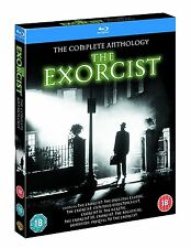 The Exorcist Complete Anthology Films 1+2+3+4+5 Collection Blu-ray Boxset New