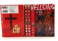 HELLSING Vol. 5,7,9,10   Manga Complete Lot Comics Japanese Edition Set