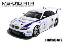 MST MS-01D RTR 1/10 Scale 4WD Electric RC Drift Car (2.4G) w/carbody- BMW M3 GT2
