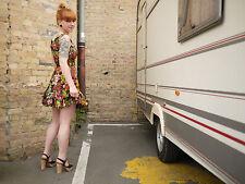 ARNEL 36 Kleid Blümchenkleid Sommerkleid 70er TRUE VINTAGE 70's flower dress