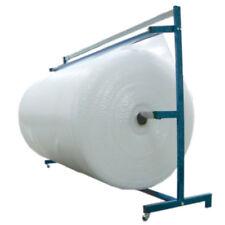 Portarrollos para plástico de burbujas, espuma FOAM o papel KRAFT de hasta 1,60m