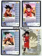 GOKU LV1-LV3 & HT LIMITED [Near Mint] #158-160 Saiyan Dragon Ball Z Ccg Tcg Dbz
