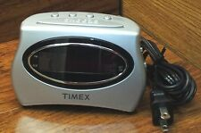 Timex Extra Loud / Soft Silver Digital Alarm Clock (T101) Snooze Access & More!