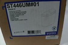 Toto # 01 Cotton White Aquia Iv Complete Dual-Flush Toilet Tank, St446Um